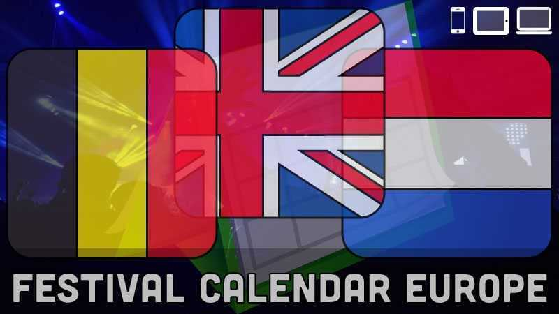 Festival Calendar Overview via www.checklistchannel.com